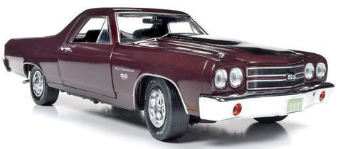 1/18 auto world 1970 Chevy El Camino シボレー エルカミーノ ミニカー アメ車