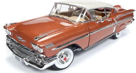 1/18 auto world 1958 Chevy Bel Air Impala シボレー ベルエア インパラ ミニカー アメ車