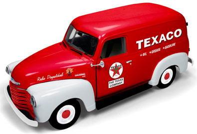 1/18 auto world 1948 Chevrolet Panel Delivery シボレー パネル デリバリー TEXACO ミニカー アメ車