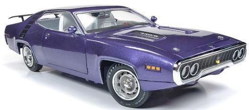 1/18 auto world 1971 Plymouth Road Runner プリマス ロードランナー ミニカー アメ車