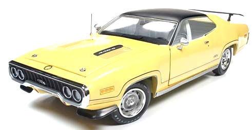 1/18 auto world 1971 Plymouth GTX プリマス ミニカー アメ車