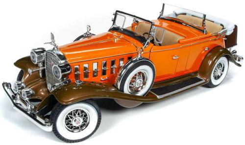 1/18 auto world 1932 Cadillac V16 Sport Phaeton キャディラック スポーツ フェートン ミニカー アメ車