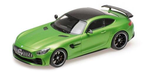 1/43 ALMOST REAL Merceedes-AMG GT-R 2017 マットグリーン メルセデス ミニカー
