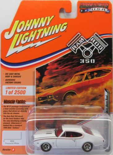 オールズ カトラス 1 64 今だけ限定15%OFFクーポン発行中 ミニカー アメ車 ジョニーライトニング 新作送料無料 JOHNNY LIGHTNING MUSCLE Ram USA Cutlass CARS Olds 2020 1968 W31 Rod