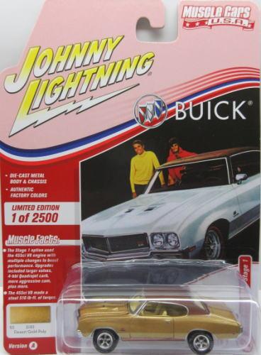 ビュイック GS セール品 1 64 ミニカー アメ車 1970 Buick LIGHTNING Stage JOHNNY 中古 ジョニーライトニング