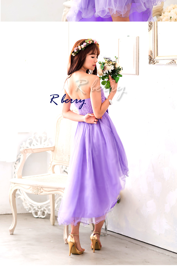 r-berry   Rakuten Global Market: Asymmetric prom dress mini long ...