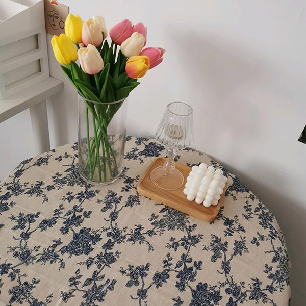 希少 30%OFFクーポン有 送料無料 通常便なら送料無料 花柄テーブルクロス 100×150 テーブルクロス