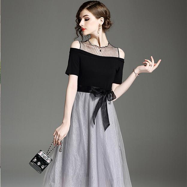 029337b51aacf レディース ファッション ワンピース セレブ レディース ドレス 演奏会 上品 ミディアム 2次会 女子会 謝恩