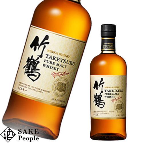 半額 甘い香りとフレッシュな味わい 竹鶴 ホワイトラベル ピュアモルト 700ml 新ラベルボトルのみ ウイスキー 43度 日本産 ニッカ