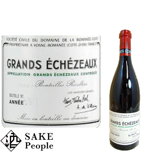 DRC グラン・エシェゾー 2009年 750ml ドメーヌ・ド・ラ・ロマネ・コンティ ブルゴーニュ [ワイン]
