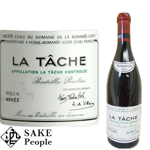 DRC ラ ターシュ 2014年 LA TACHE MONOPOLE 750ml [ワイン][ブルゴーニュ]