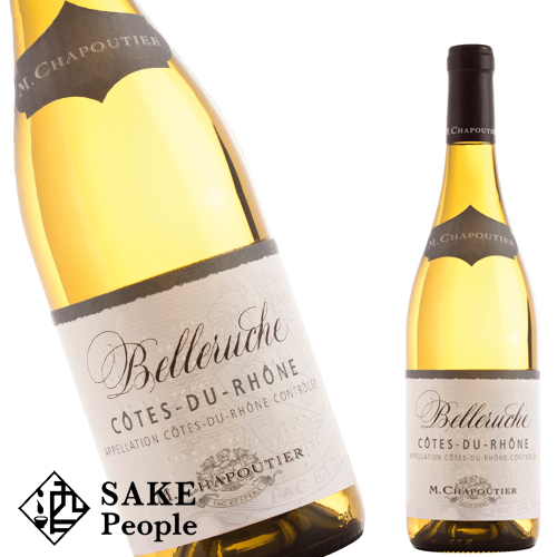 シャプティエ コート デュ ローヌ ブラン フランス ベルルーシュ 2019 高級 正規品 750ml白ワイン 別倉庫からの配送