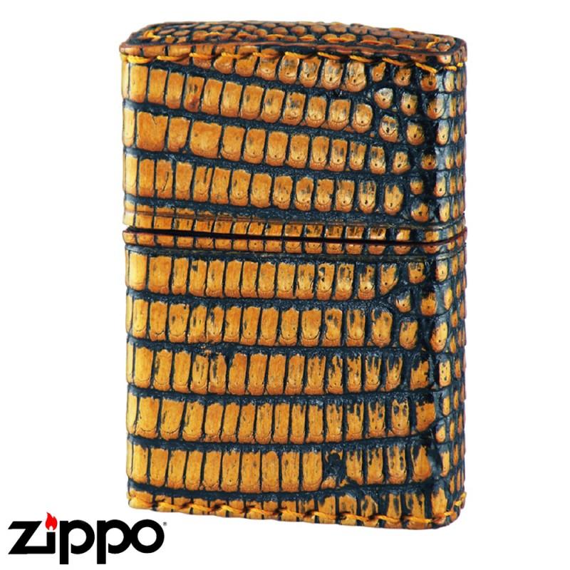 zippo ジッポー ライター アニマルレザー 2Z-LIZARD リザード革巻き