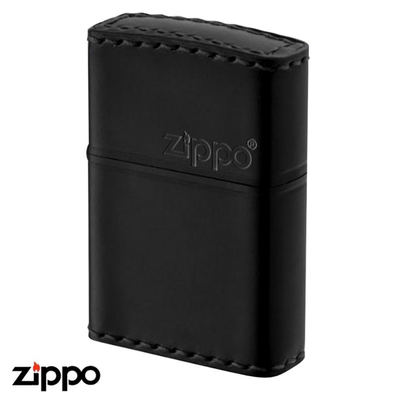 zippo 革巻き リアルレザー ハンドメイド CB-5 コードバンブラック ギフト プレゼント 贈り物 返品不可 誕生日 父の日 馬革 喫煙具