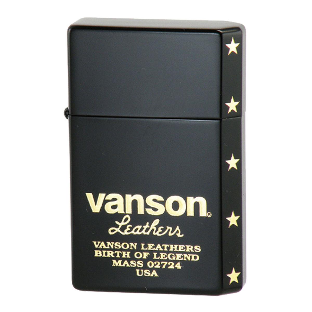 オイルライター 日本製 GEAR TOP ギアトップ VANSON バンソン ロゴデザイン ブラック V-GT-06 ギフト プレゼント 贈り物 返品不可 誕生日 USBライター メンズ Men's おしゃれ