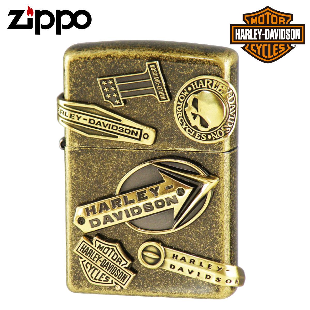 Zippo ジッポー Zippoライター ジッポライター オイルライター ハーレーダビッドソン HDP-64 メイクメタル