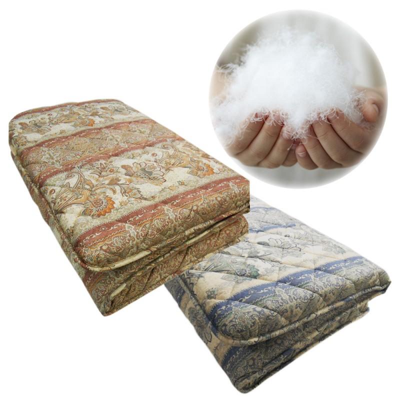 羽毛布団 羊毛敷布団 枕 日本製 日本製羽毛布団 3点セット 6A045