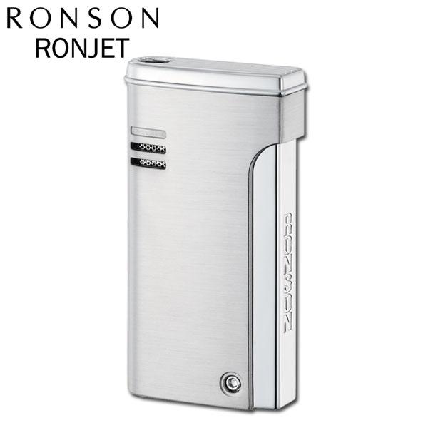RONSON ロンソン ガスライター ロンジェット バーナーフレームライター R29-0002 クロームサテン ギフト ギフト プレゼント 贈り物  メンズ Men's おしゃれ
