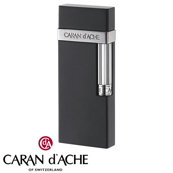 カランダッシュ CARAN dACHE フリントガスライター ガンメタル黒マット CD30-3002 ギフト プレゼント おしゃれ メンズ Men's 贈り物