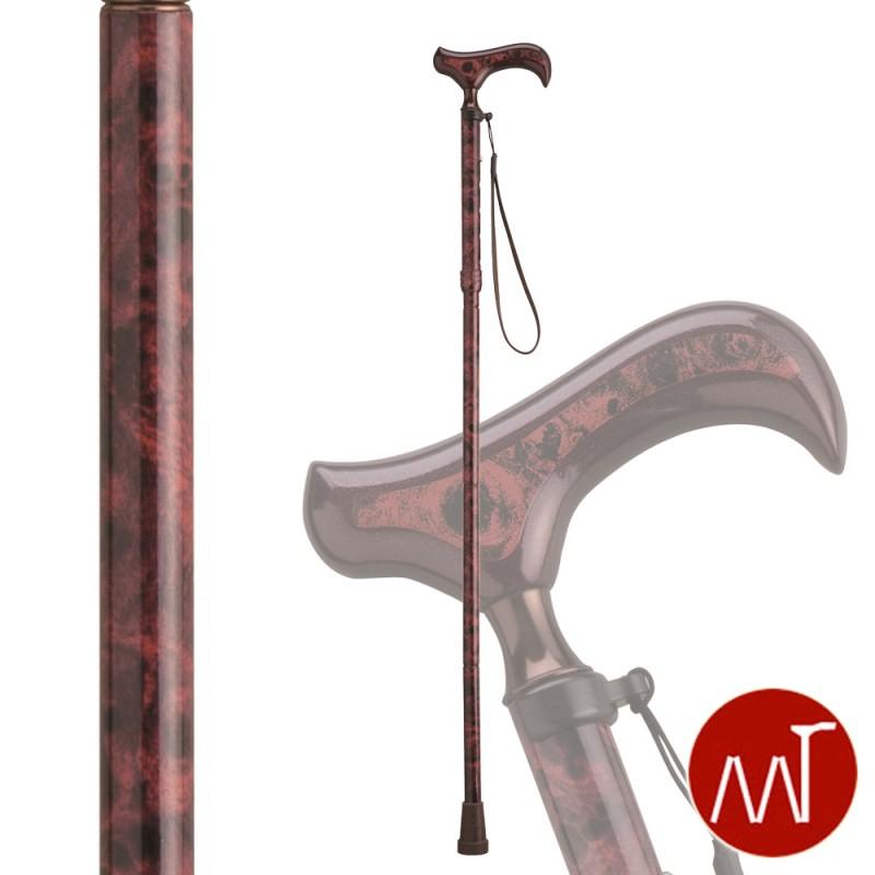 杖 折りたたみ 折りたたみ式杖 愛杖 Fx-15B ストラップ付き