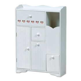 完成家具 送料無料(家具は、北海道・沖縄・離島除く)木製トイレラック 収納BOX 収納ケース MTR-6510WH 木製収納家具  包装不可 返品不可 代引不可 送料無料