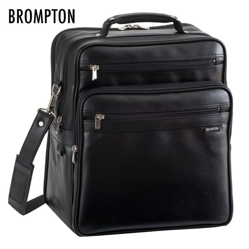 メンズ 男性用 紳士 肩掛けカバン ブロンプトン 合皮フライト ショルダーバッグ 黒 16275 敬老の日 メンズ 男性用 mens 紳士 バッグ かばん 人気