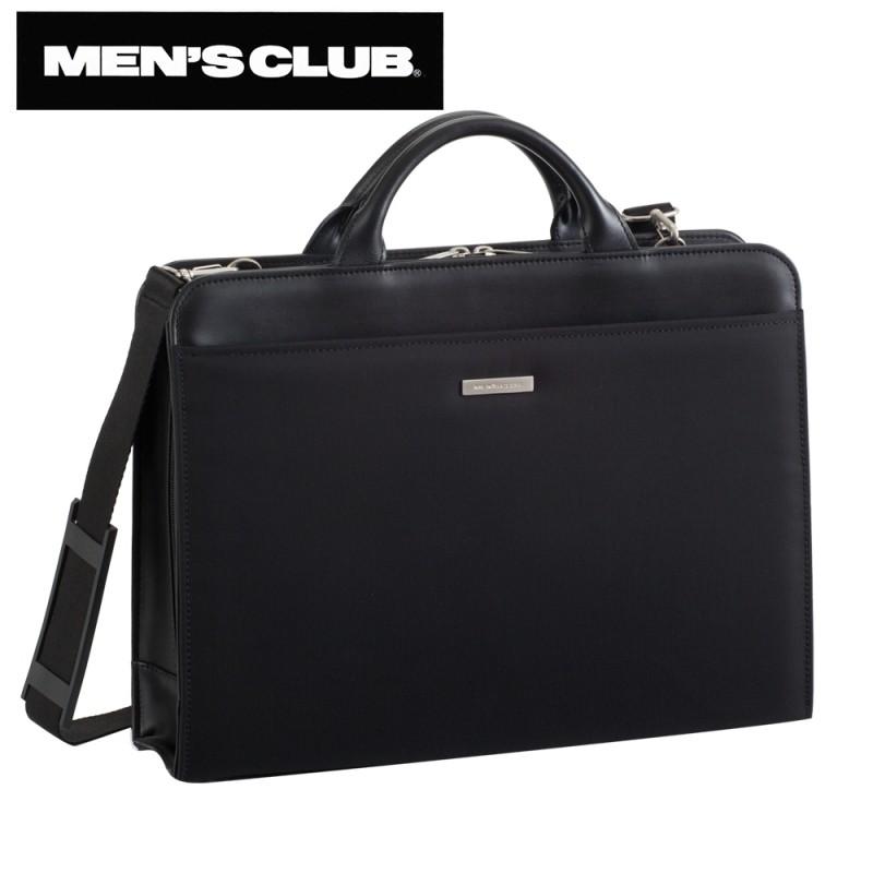 メンズ ビジネスバッグ ビジネスカバン メンズクラブ 強撚糸ナイロンシリーズ ビジネスバッグ 黒 22122 ギフト プレゼント 贈り物 men's メンズ ビジネスバッグ ビジネスカバン 鞄 人気