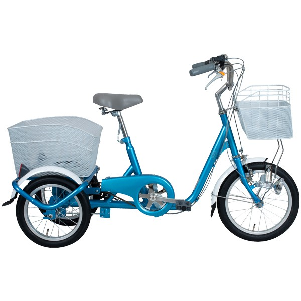 ロータイプ 三輪自転車 大人用 スイングチャーリー MG-TRE16SW-BL ブルー