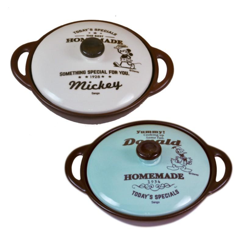 ディズニー キッチン用品 グリルパン  ミッキー ドナルド  グリル&キッチン 両手グリルパン 3239