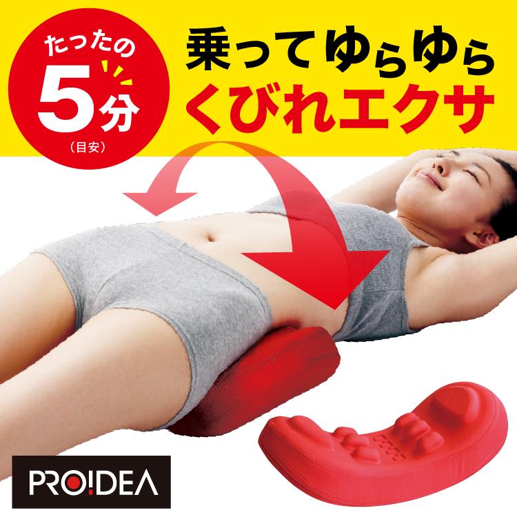 自宅で簡単 1回およそ5分 乗って揺れるだけで 気持ちよく 福辻式寝ながら骨盤シェイプ枕DX 高品質 伸ばして 凝り固まった骨盤まわりの筋肉をほぐして 大特価!! 整えてくれる枕