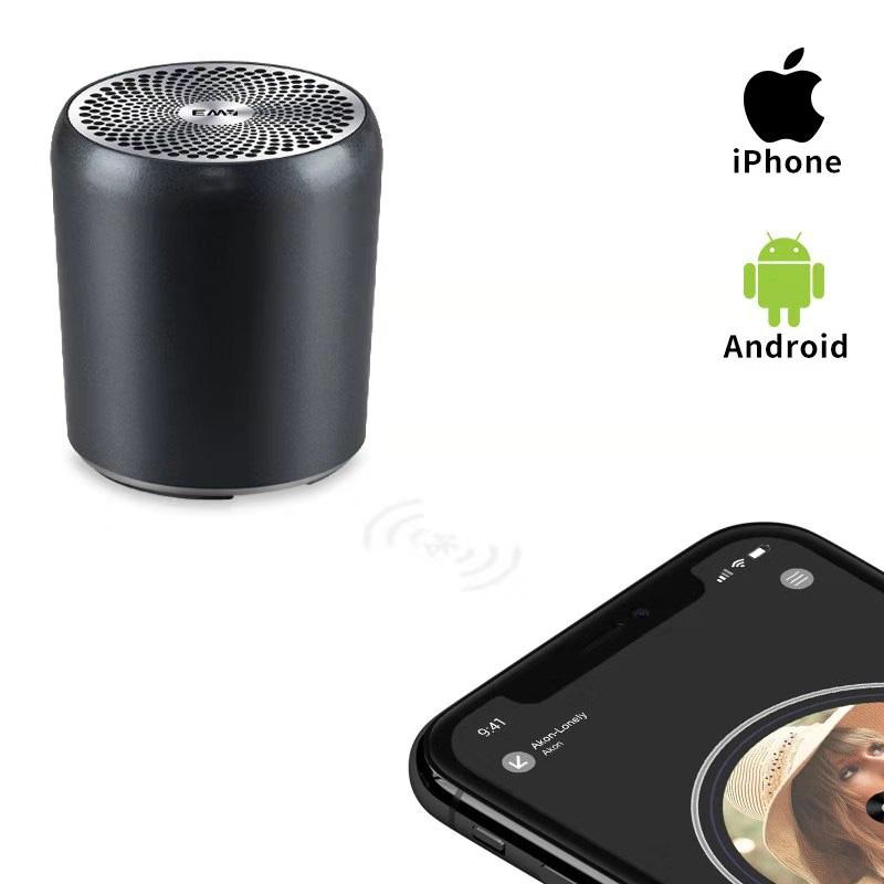 小さなスピーカーなのに素晴らしい重低音を実現 正規代理店 EWA Bluetooth スピーカー A107S ステレオペアリング microSDカード対応 おしゃれ 小型 セール特価 iPhone 軽量 高音質 大音量 Android 2020春夏新作 iPad マイク内蔵 ポータブルスピーカー PC対応