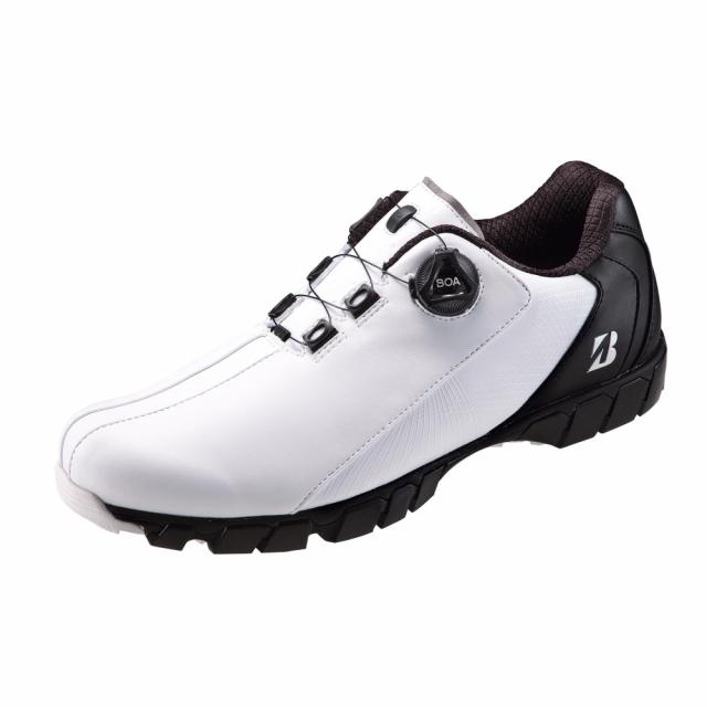 ブリヂストン ゴルフシューズ ゼロスパイクバイターワイド20 SHG080 新色追加して再販 シリーズ史上最高のグリップ力 BRIDGESTONE 4E ダイヤル式スパイクレス メンズ 贈物 ゴルフ