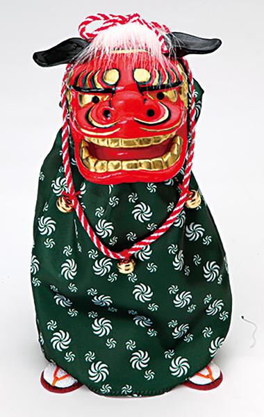 《 正月 装飾 》☆即日出荷☆Parer/パレ(ソクジツ) 踊る獅子舞M グリーン 新年