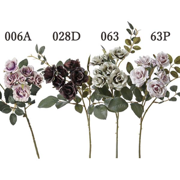《 造花 》☆即日出荷☆アスカ/アスカ(ソクジツ) ローズ×5 つぼみ×2インテリア