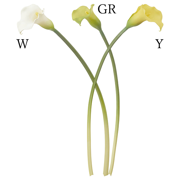 《 造花 》Poppy/ポピー カラーリリー(1セット12本入り)インテリア インテリアフラワー
