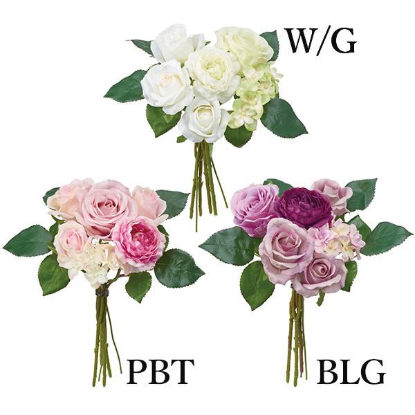 《 造花 》Poppy/ポピー ミレーヌローズラナンバンドル(1セット12束入り)インテリア