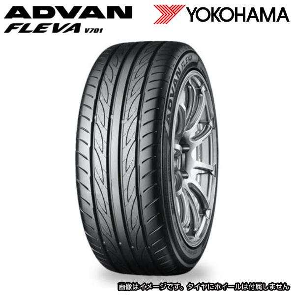 送料込 19年製造 ヨコハマ アドバンフレバ 215/40R17 YOKOHAMA FLEVA ADVAN V701 日本製造