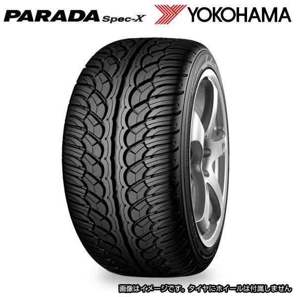 送料込 19年製造 ヨコハマ パラダ スペック エックス 285/40R22 YOKOHAMA PARADA SPEC-X 日本製造