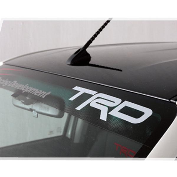 送料込み 新型ハイラックス フロント ウィンド シールド 海外 TRD Asia 正規品 ステッカー 国内発送 トヨタ 純正 アクセサリ パーツ HILUX GUN125