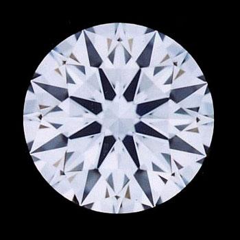 ダイヤモンドルース 稀少 FL フローレス GIA鑑定書付き 0.37ct Dカラー FL 3EX