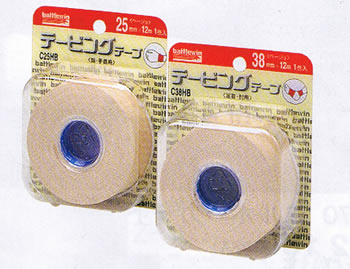 【消臭剤・その他】スポーツ傷害の予防、再発防止の固定専用テープ 【isami イサミ オフィシャルサイト】カラーテーピングテープ Cタイプ・ベージュ(固定タイプ) 25mm×12m 1ロール