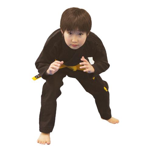【isami イサミ オフィシャルサイト】キッズ柔術衣(無地) 上下 (サイズ:M0(00)~M2(1)号)
