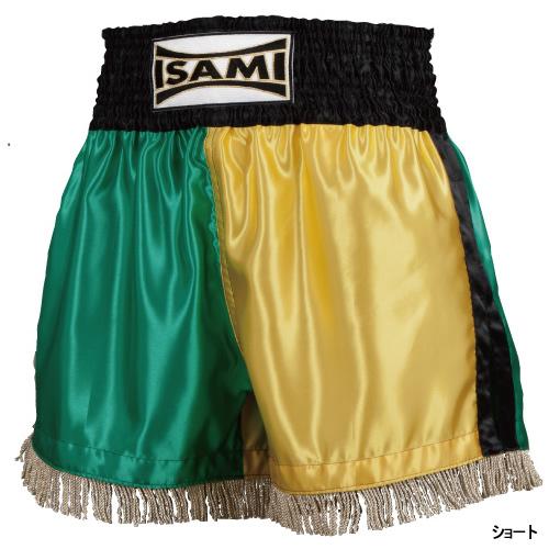 【isami イサミ オフィシャルサイト】サテンショートキックパンツ