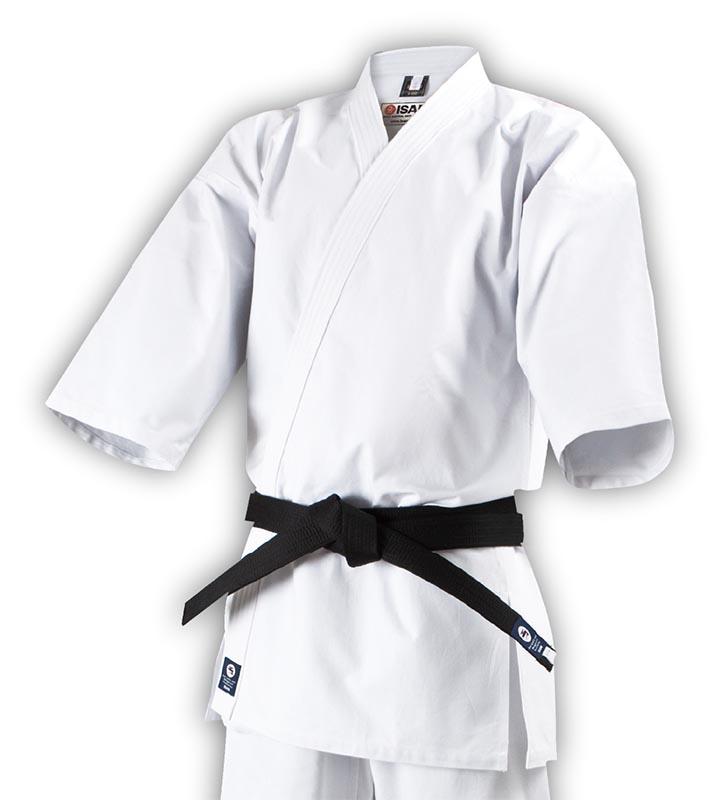 【isami イサミ オフィシャルサイト】フルコンタクト晒空手衣(選手用) 上衣のみ 6・7・8号