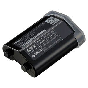 ニコン Li-ionリチャージャブルバッテリー EN‐EL4A