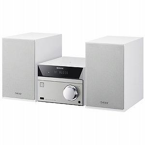 ソニー ミニコンポ(ウォークマン・CD対応) CMT‐SBT40 WC (ホワイト)