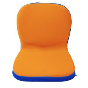 ピーエーエス 子供の姿勢を考えたクッション「p!nto kids」 PINTOKOR (オレンジ×ブルー)
