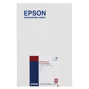EPSON UltraSmooth Fine Art Paper   (A3ノビ・20枚) KA3N25USFA(送料無料)