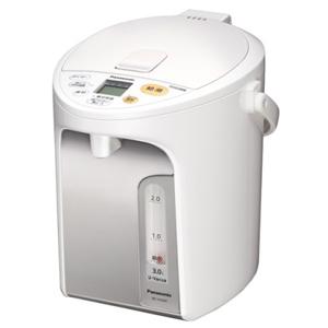 パナソニック マイコン沸騰ジャーポット(3.0L) NC‐HU304‐W (ホワイト)