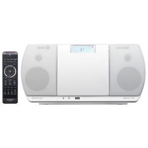 ケンウッド ミニコンポ CR‐D3‐W (ホワイト)(送料無料)